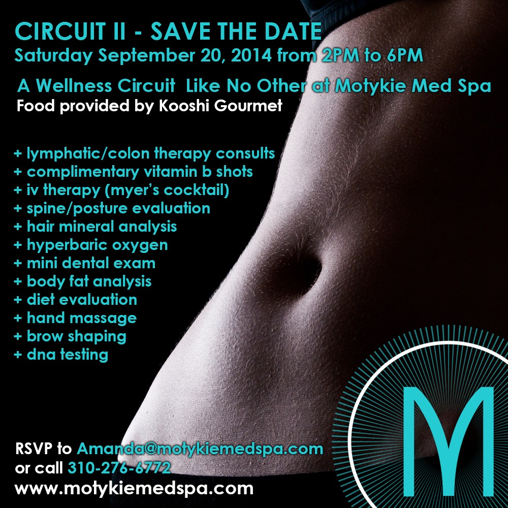 Circuit II Signage 9.8.14 Specials & Events | Beverly Hills | Los Angeles