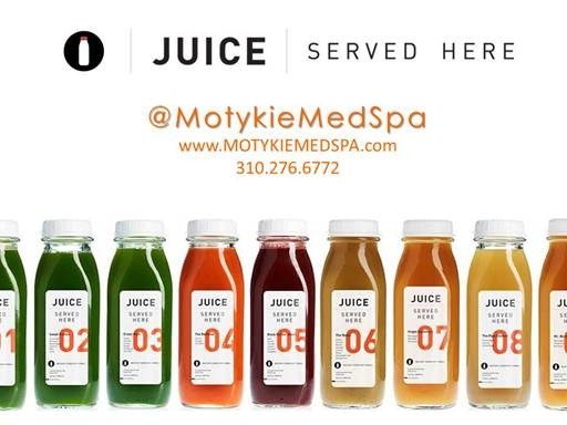 New at Motykie Med Spa: JUICE Served Here